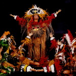 Folklore show + diner