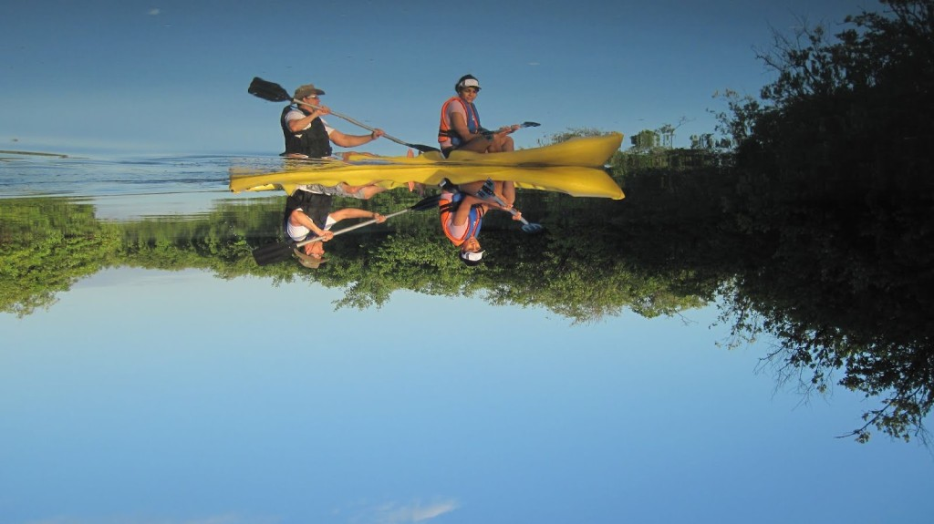 Kayak tour Brazilie