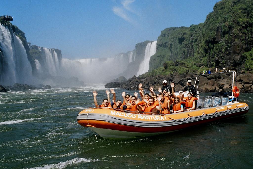 Macuco Safari boottocht Brazilie