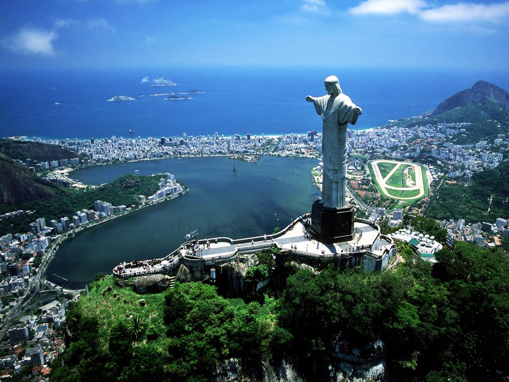 op vakantie naar Brazilie